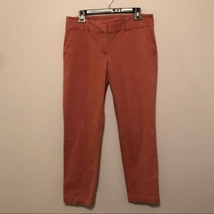 """Talbots """"The Daily Ankle"""" Pants in Salmon"""